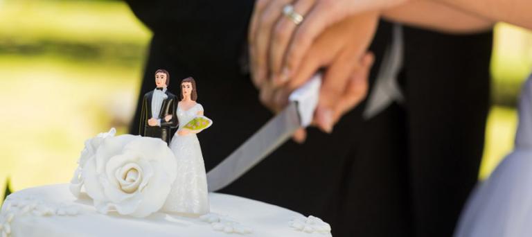 photo décoration gateau de mariage
