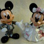 Figurine pour gateau mariage disney