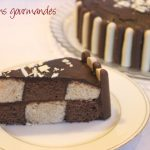 Déco gateau chocolat blanc