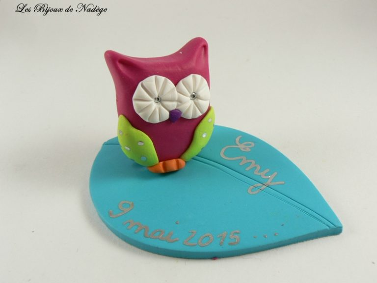 D co gateau hibou for Idee deco gateau