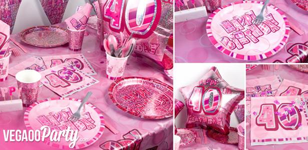photo décoration gateau anniversaire 40 ans