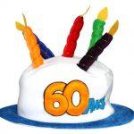 Décoration gateau anniversaire 60 ans