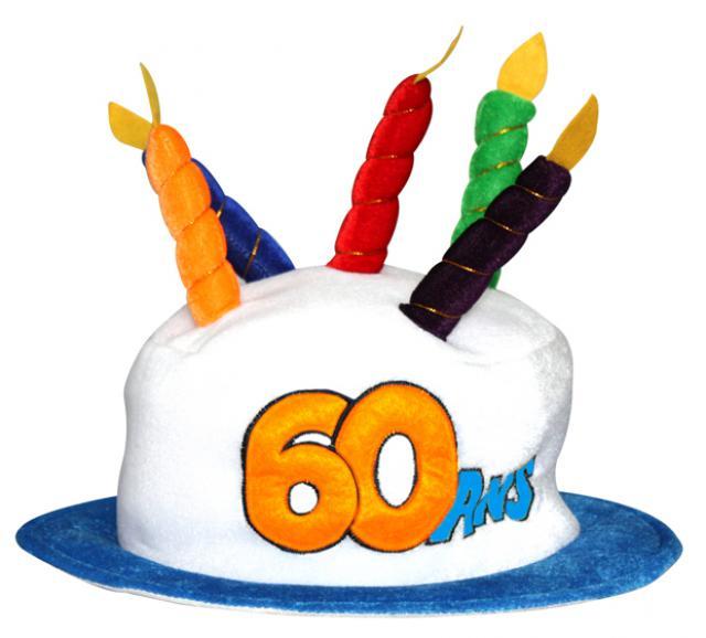 photo décoration gateau anniversaire 60 ans