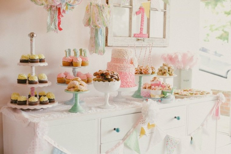 Decoration table fille 1 an decoration an garcon pas cher - Decoration anniversaire fille pas cher ...