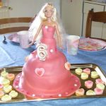 Décoration gateau barbie