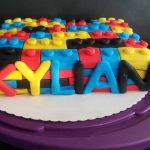 Décoration gateau lego