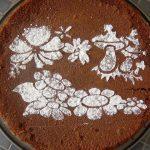 Décoration gateau sucre glace