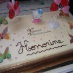 Décoration gateau anniversaire fille 1 an