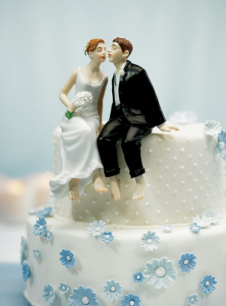 photo figurine gateau mariage hockey