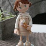 Figurine gateau mariage musculation