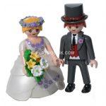 Figurine gateau mariage playmobil