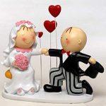 Figurine pour gateau mariage pas cher