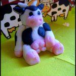 Gateau décor vache