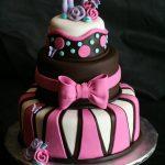 Idée déco gateau anniversaire fille