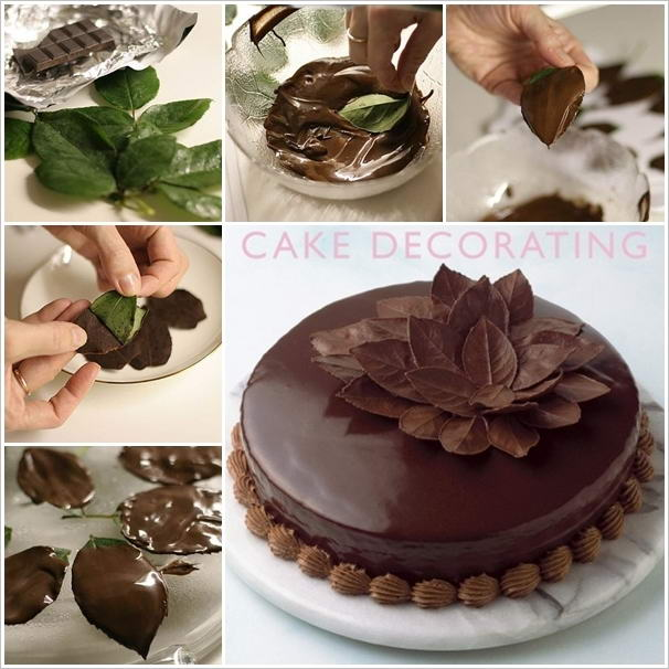 Jolie d coration gateau chocolat facile - Gateau au chocolat decoration ...