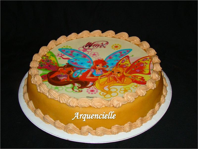 photo décor gateau winx #2 on