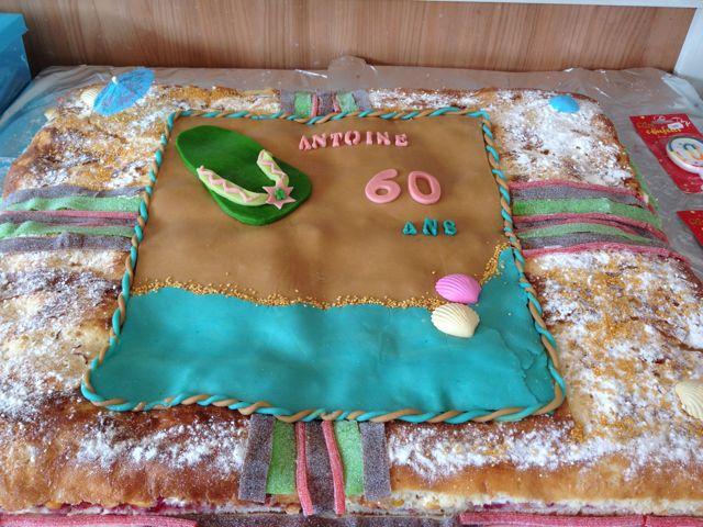 photo dcoration gateau anniversaire 60 ans - Gateau Anniversaire 60 Ans