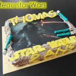 Décoration gateau star wars
