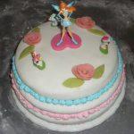 Déco gateau anniversaire pate à sucre