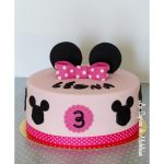 Décoration gateau minnie