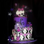 Décoration gateau monster high