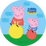 Décoration gateau peppa pig