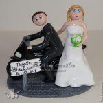 Figurine gateau de mariage personnalisée