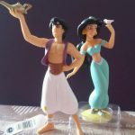 Figurine gateau mariage aladdin jasmine