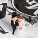 Figurine gateau mariage femme