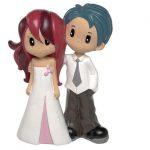 Figurine gateau mariage manga