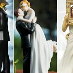 Figurine gateau mariage musique