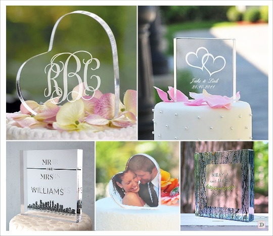 Figurine pour gateau mariage personnalisé