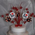 Décoration gateau one direction