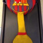 Déco gateau fc barcelone
