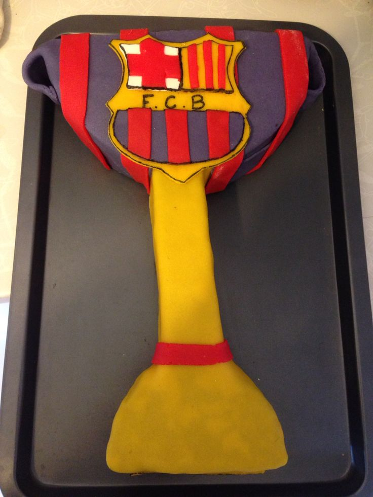 Decoration Gateau Fc Barcelone