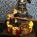 Décoration gateau harry potter