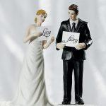 Figurine gateau mariage en anglais
