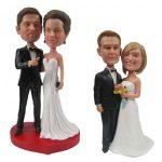 Figurine gateau mariage personnalisé