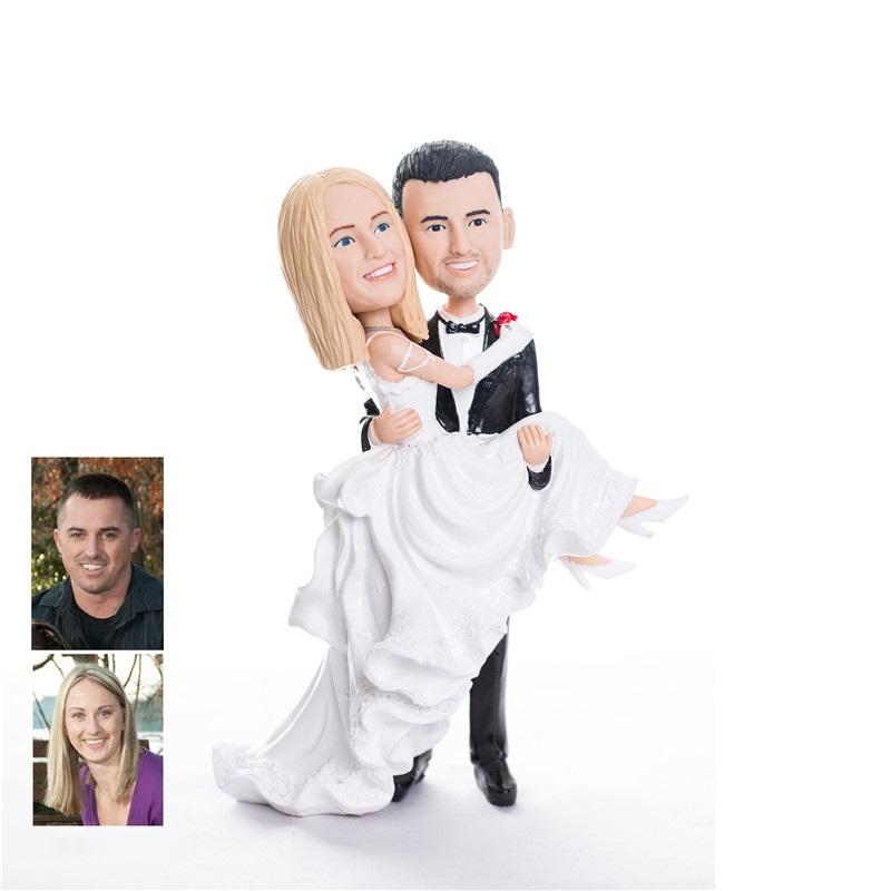 Figurine Gateau Mariage Personnalisé Sympa