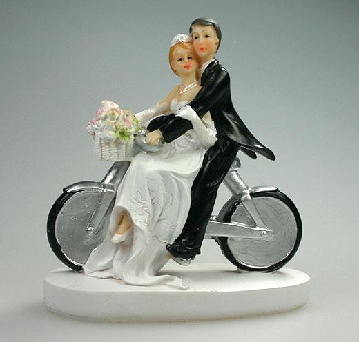 figurine gateau mariage velo. Black Bedroom Furniture Sets. Home Design Ideas