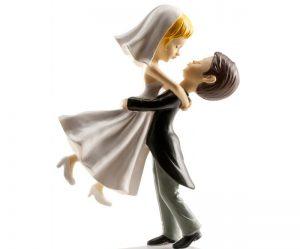Figurine pour gateau mariage humoristique