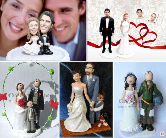 Inspiration Figurine Gateau Mariage Personnalisé