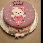 Idee déco gateau anniversaire pate a sucre