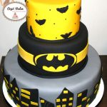 Décoration gateau batman