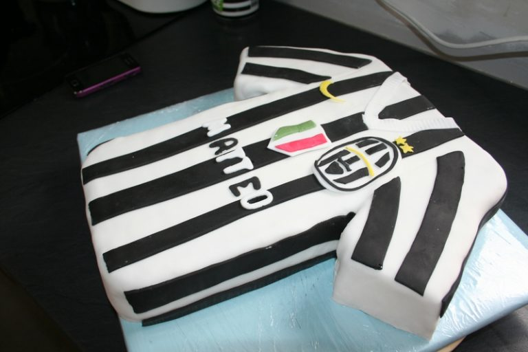 photo déco gateau juventus