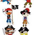 Déco gateau pirate a imprimer