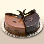 Décoration gateau 3 chocolat