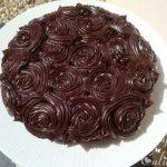 Décoration gateau ganache chocolat