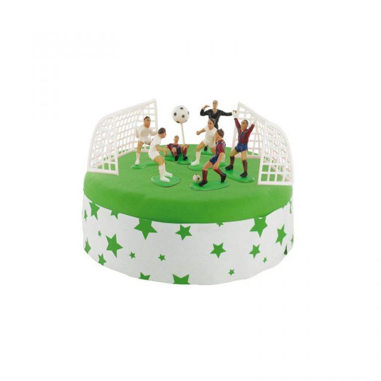 photo décoration gateau joueur de foot