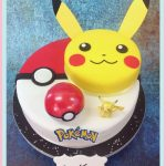 Décoration gateau pokemon